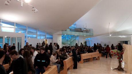 Incontro diocesano degli adolescenti di Roma a san Pio (12.12.15)